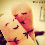 جدیدترین اس ام اس بوسه عاشقانه آذر 93