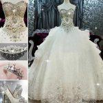 مدل لباس عروس 2016 + مدل لباس عروس اروپایی 1395- 2016