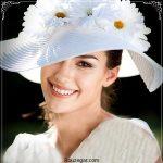 گلچینی از شیک ترین مدل کلاه عروس توری و گلدار 2018
