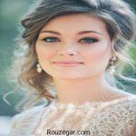 ژورنال شیک ترین مدل آرایش عروس اروپایی 2018