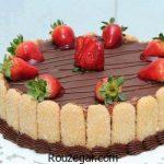 کیک تولد خانگی شکلاتی + طرز تهیه کیک تولد خانگی بدون خامه