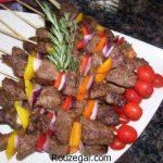 کباب چنجه رستورانی خوشمزه + طرز تهیه کباب چنجه ترد با گوشت گوسفندی