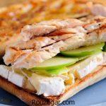 ساندویچ مرغ با قارچ + طرز تهیه ساندویچ مرغ و سیب زمینی