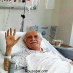 بستری شدن داریوش اسدزاده در بیمارستان + تصاویر