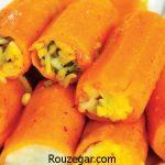 آموزش طرز تهیه دلمه هویج سوخاری و راز خوشمزه شدن دلمه هویج