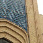 آثار زلزله ی مشهد و خسارت به بازار رضای مشهد