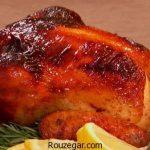 مرغ در فر با رب انار + طرز تهیه مرغ در فر خانگی