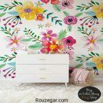 گالری زیباترین مدل کاغذ دیواری گلدار 2017 | مدل کاغذ دیواری گلدار 96