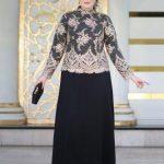 ژورنال شیک ترین مدل لباس مجلسی سایز خیلی بزرگ پوشیده مد سال 2018