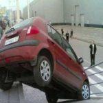 عکس های خنده دار از رانندگی خانم ها 2015