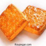 نان گاتا کره ای + طرز تهیه نان گاتا گردویی