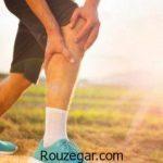 گرفتگی عضلات پا + درمان سریع گرفتگی عضلات