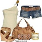 ست لباس جین دخترانه مخصوص دورهمی های دوستانه و نیمه رسمی