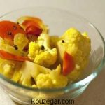 ترشی گل کلم و هویج + طرز تهیه ترشی گل کلم مخلوط