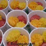آموزش طرز تهیه حلوای سه رنگ مجلسی و راز خوشمزه شدن حلوای سه رنگ