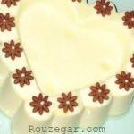 دسر شیر عسل و پسته خانگی و طرز تهیه دسر شیر عسل خوشمزه ساده