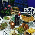 تزيين سفره افطار بصورت زیبا + بهترین ترکیب غذا برای سحری و افطاری