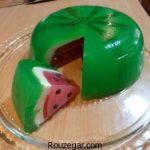 ژله هندوانه ای خوشمزه + طرز تهیه ژله هندوانه ای ساده برای شب یلدا