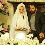 عکس های مراسم عروسی ژیلا صادقی و همسرش محسن رجبی