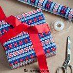آموزش تصویری کادو کردن هدیه و طرز درست کردن جعبه کادو زیبا