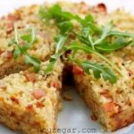 کیک برنج مخلوط ساده و آموزش طرز تهیه کیک برنج مخلوط رژیمی