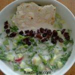 آب دوغ خیار مجلسی + طرز تهیه آب دوغ خیار خوشمزه