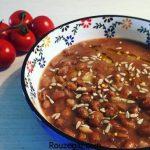 طرز تهیه خوراک لوبیا چیتی و راز خوشمزه شدن خوراک لوبیا سبز با قارچ
