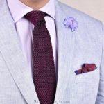 آموزش تصویری نحوه بستن کراوات ساده و مدل بستن کراوات مجلسی