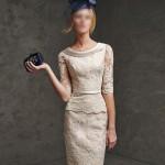 مدل های کت و دامن زنانه و دخترانه گیپور بلند برای افراد چاق