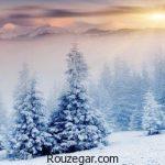 مجموعه جدید و زیبای متن ادبی در مورد برف زمستونی عاشقانه