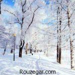 سری جدید مجموعه شعر زیبا درباره برف و زمستان غمگین و عاشقانه