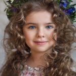 گالری مدل موی فر بلند بچگانهشیک و زیبا