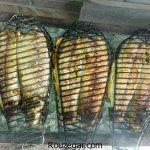 ماهی کبابی روی ذغال + طرز تهیه ماهی کبابی شکم پر خوشمزه در فر