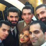 عکس های عروسی شهرام محمودی و همسرش سوگند خورشیدی