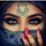 مدل آرایش خلیجی + مدل آرایش چشم به سبک خلیجی