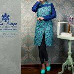 مدل مانتو سنتی رنگ سال 1395 دخترانه از برند ایرانی نژ