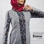 جدیدترین مدل مانتو شیک و سنتی 2016 از برند ecwoc