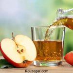 خواص شگفت انگیز آب سیب