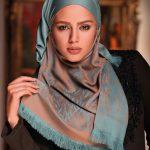 جدیدترین مدل شال و روسری ایرانی ترکی و آموزش بستن شال و روسری