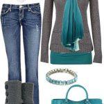 جدیدترین مدل ست لباس زمستانی 2015