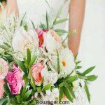 گالری زیباترین و شیک ترین مدل دسته گل عروس 2017