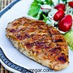 استیک مرغ رژیمی + طرز تهیه استیک مرغ با قارچ