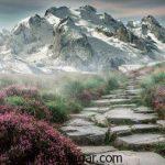 گالری زیباترین عکس کوه ها در سراسر جهان