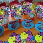 ایده های خلاقانه برای ساخت کاردستی عید نوروز برای پیش دبستانی