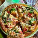 پیتزا نودل بدون فر و طرز تهیه پیتزا نودل خوشمزه خانگی در چند دقیقه