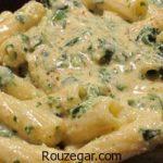 پاستا مرغ و قارچ + طرز تهیه پاستا مرغ با سس آلفردو