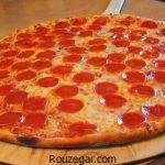 پیتزا پپرونی رستورانی + طرز تهیه پیتزا پپرونی ایتالیایی در فر