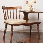 زیباترین مدل هایمیز تلفن صندلی دار در دکوراسیون منزل