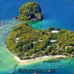 عکس جزایر و معرفی زیباترین جزیره های توریستی دنیا