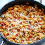 پیتزای ماکارونی با قارچ + طرز تهیه پیتزای ماکارونی با سبزیجات